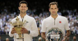Novak Djokovič, Roger Federer, Wimbledon