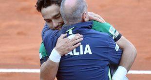 Fabio Fognini, Corrado Barazzutti, Taliansko, Davis Cup