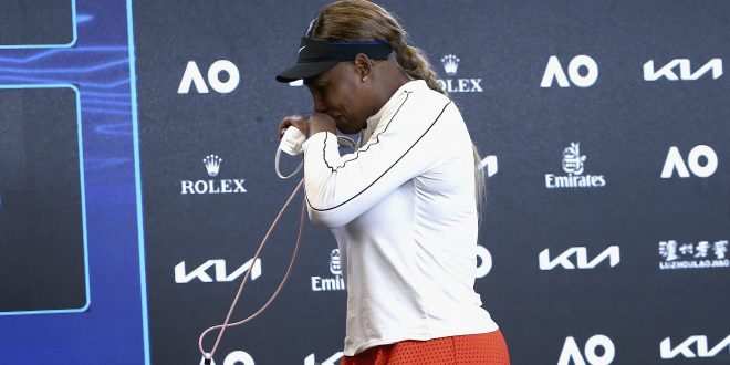Serena Williamsová, Plač