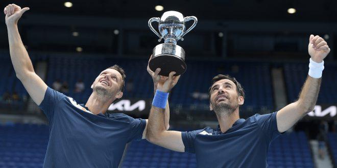 Filip Polášek, Ivan Dodig, Trofej, Australian Open