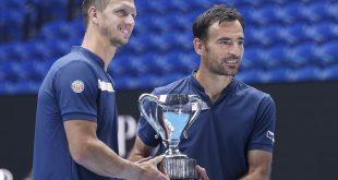 Filip Polášek, Ivan Dodig, Trofej, Australian Open 2021