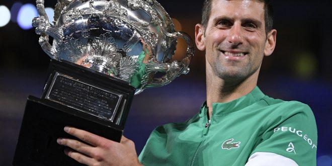 Novak Djokovič, Trofej, Australian Open 2021