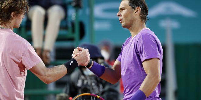 Andrej Rublev, Rafael Nadal