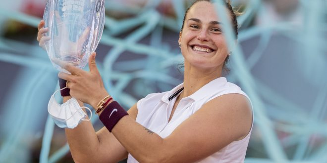Arina Sabalenková, WTA Madrid Open, Trofej