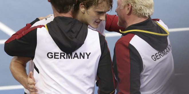 Alexander Zverev, Boris Becker