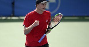 VIDEO Ako s ním Djokovič mohol uhrať hru? Premožiteľ Gombosa v Antverpách ďalej udivuje tenisový svet